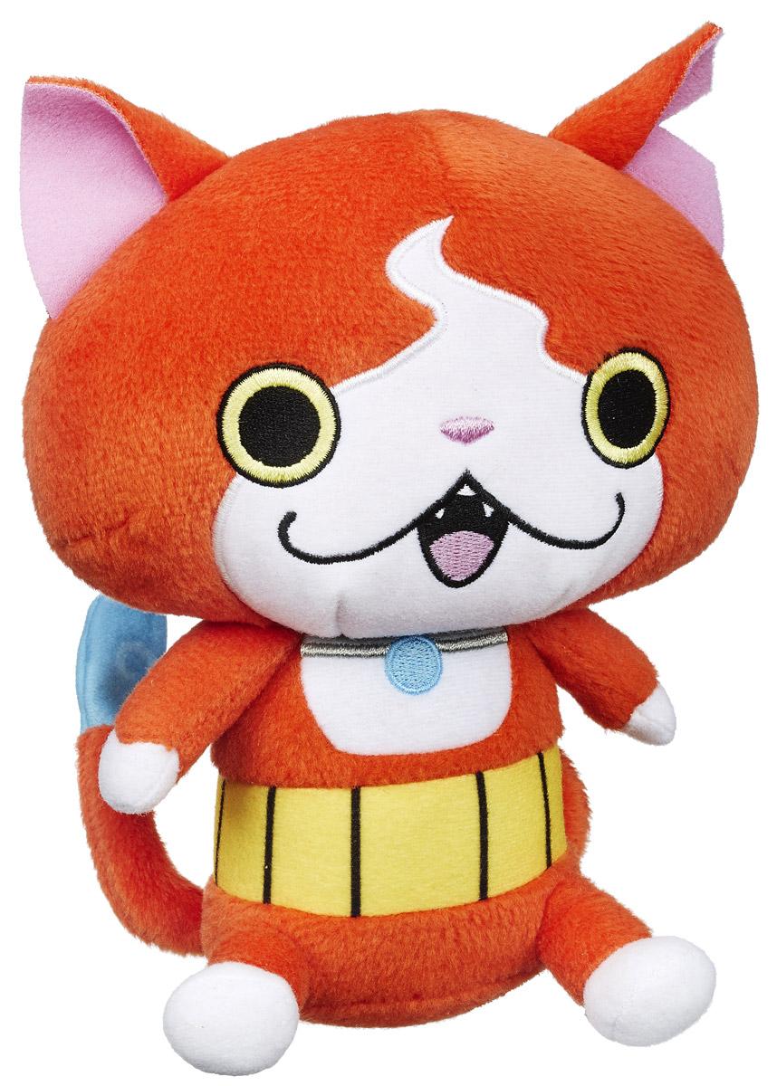 Yo-kai Watch Мягкая игрушка Jibanyan 15 смB5949_B5950В мире Yo-kai у персонажей иногда случаются дни, когда все идет не так. Они теряют ключи. У них спадают штаны. Несомненно, во всем этом виноваты Yo-kai. Они находятся повсюду, каждый день отвлекая и доставляя неудобства окружающим. Их не может видеть никто, кроме тех персонажей, которые подружились с ними. Чудесная мягкая игрушка Yo-kai Watch Jibanyan непременно порадует каждого поклонника мира Yo-Kai Watch. Играя с ней, ребенок сможет придумать множество новых сюжетов, или, собрав всю коллекцию Yo-kai Watch, воссоздать истории из мультфильма. Заведите дома забавных персонажей из мультсериала Yo-kai Watch!