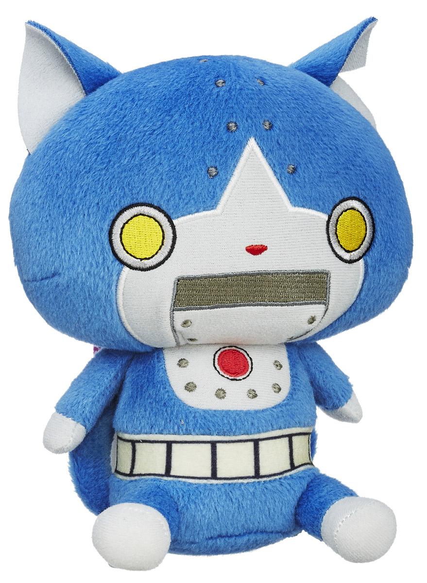 Yo-kai Watch Мягкая игрушка Robonyan 14 смB5949_B5953В мире Yo-kai у персонажей иногда случаются дни, когда все идет не так. Они теряют ключи. У них спадают штаны. Несомненно, во всем этом виноваты Yo-kai. Они находятся повсюду, каждый день отвлекая и доставляя неудобства окружающим. Их не может видеть никто, кроме тех персонажей, которые подружились с ними. Чудесная мягкая игрушка Yo-kai Watch Robonyan непременно порадует каждого поклонника мира Yo-Kai Watch. Играя с ней, ребенок сможет придумать множество новых сюжетов, или, собрав всю коллекцию Yo-kai Watch, воссоздать истории из мультфильма. Заведите дома забавных персонажей из мультсериала Yo-kai Watch!