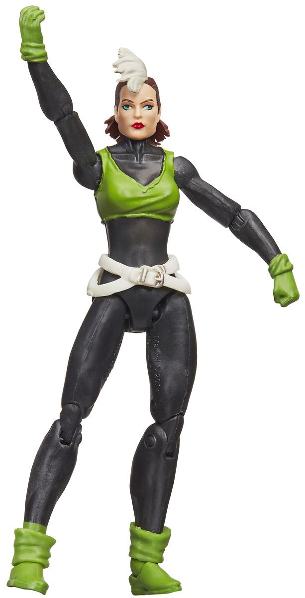 Marvel Фигурка Marvels RogueB6356EU4_B6917Фигурка Marvel Marvels Rogue порадует любого поклонника знаменитой вселенной Marvel. Фигурка изготовлена из высококачественного прочного пластика и выполнена в виде супергероини Шельмы, входящей в отряд Людей Икс. Голова, руки и ноги игрушки подвижны. Фигурка Marvel Marvels Rogue понравится как детям, так и взрослым коллекционерам, она станет отличным сувениром или займет достойное место в коллекции любого поклонника комиксов Marvel. Высота фигурки: 9,5 см.