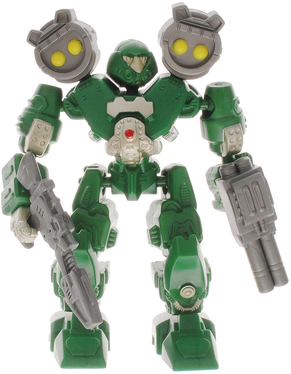 Happy Kid Робот-трансформер Марс цвет зеленый4015_зеленыйОригинальный робот-трансформер Happy Kid Марс порадует вашего ребенка и надолго займет его внимание. Он выполнен из прочного пластика зеленого и серого цвета. Состоит из частей, которые вращаются на 360 градусов и взаимозаменяемы, что позволит создать неограниченное количество комбинаций. Порадуйте своего ребенка столь интересным, занимательным и развлекательным подарком.
