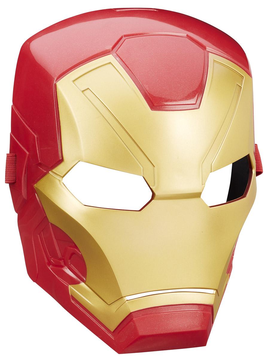 Avengers Маска Iron ManB6654EU4_B6742У вашего ребенка намечается детский утренник, бал-маскарад или карнавал? Маска Avengers Iron Man внесет нотку задора и веселья в праздник и станет завершающим штрихом в создании праздничного образа. Она выполнена в виде шлема супергероя Железного человека. Маска имеет прорези для глаз и держится на голове при помощи эластичного регулируемого ремешка. Маска изготовлена из прочного пластика, изнутри оснащена защитной прорезиненной накладкой, делающей ношение комфортным и безопасным. Эта замечательная маска поможет малышу полностью вжиться в образ любимого супергероя.