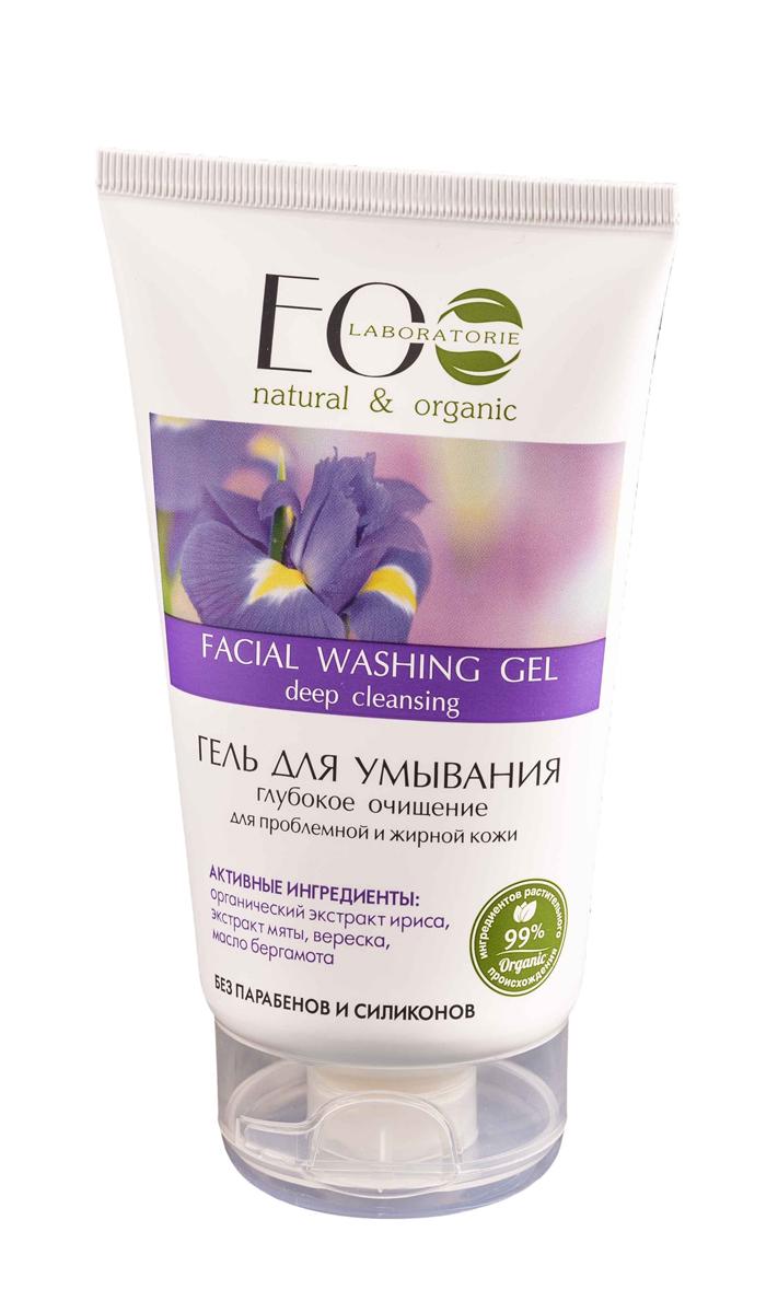 EcoLab ЭкоЛаб Гель для умывания Глубокое очищение для проблемной жирной кожи 150 мл
