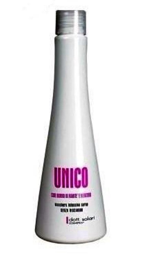 Unico Маска для волос 200 мл8004347006512Кератиновое выпрямление-это интенсивное лечение волос, насыщающее их кератином, из которого они состоят примерно на 90%, однако под влиянием разных факторов они утрачивают его. Кератин способствует обогащению структуры волоса, защищая волосы от вредных факторов.