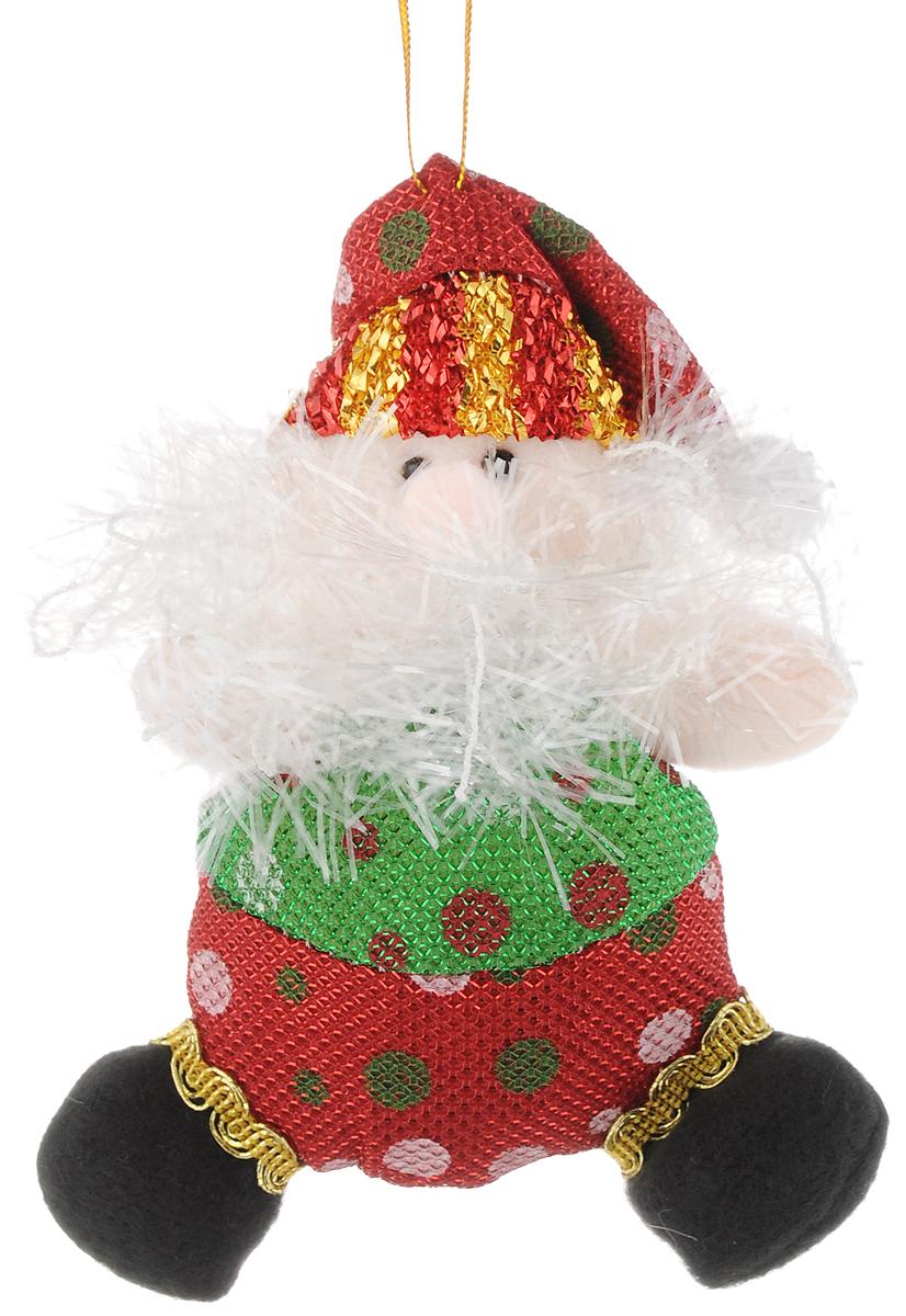 Украшение новогоднее подвесное Феникс-Презент Дедушка Мороз красно-зеленый горошек, 15,5 х 7 см42529Новогоднее подвесное украшение Феникс-Презент Дедушка мороз красно-зеленый горошек выполнено из полиэстера в виде мягкой фигурки Деда Мороза. С помощью специальной петельки украшение можно повесить в любом понравившемся вам месте. Но, конечно, удачнее всего оно будет смотреться на праздничной елке. Елочная игрушка - символ Нового года. Она несет в себе волшебство и красоту праздника. Создайте в своем доме атмосферу веселья и радости, украшая новогоднюю елку нарядными игрушками, которые будут из года в год накапливать теплоту воспоминаний. Материал: полиэстер. Размеры: 15,5 х 7 см.