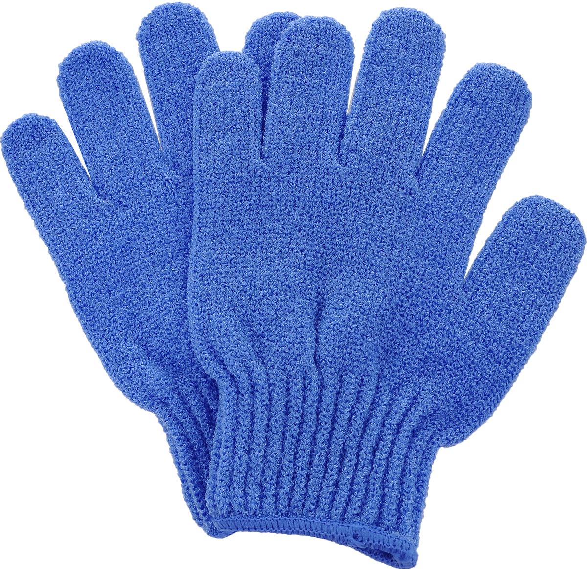 Перчатки для пилинга Riffi, цвет: синий615_синийЭластичные безразмерные перчатки Riffi обладают активным антицеллюлитным эффектом и отличным пилинговым действием, тонизируя, массируя и эффективно очищая вашу кожу. Перчатки Riffi освобождает кожу от отмерших клеток, стимулирует регенерацию. Эффективно предупреждают образование целлюлита и обеспечивают омолаживающий эффект. Кожа становится гладкой, упругой и лучше готовой к принятию косметических средств. Интенсивный и пощипывающий свежий массаж тела с применением перчаток Riffi стимулирует кровообращение, активирует кровоснабжение, способствует обмену веществ. В комплекте 1 пара перчаток.