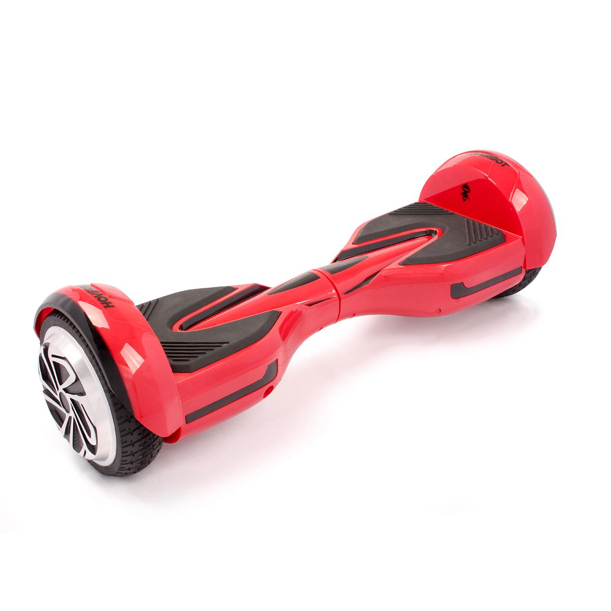 Гироскутер Hoverbot A-12 (H-2), цвет: красныйGA12RDГироскутер Hoverbot A12 имеет современный спортивный дизайн, который располагает к быстрой езде. Данная модель отлично подойдёт для опытных пользователей. Устройство по праву занимает одно из достойных мест в классе 6,5 колёс. Имея большой запас хода и мощный мотор (2х400W) Hoverbot A12, бесшумно преодолевает расстояние в 15 км на одном заряде батареи. Хорошее сцепление с дорогой и устойчивый ход борда A12 позволяет опытным райдерам быстро набирать скорость и успешно маневрировать даже в самых экстремальных ситуациях. Покупая Hoverbot A12 вы покупаете не только средство для развлечения, но и универсальное средство передвижения, которое можно легко брать с собой в дорогу, поскольку он компактен и помещается в любую машину. Благодаря своему небольшому весу (10 кг) вы легко можете взять его в руки за центральную часть борда и перенести через препятствие, продолжить свой путь в автобусе, либо в метро. Hoverbot А12 оснащён передними ходовыми огнями и габаритами сзади. Вся подсветка...