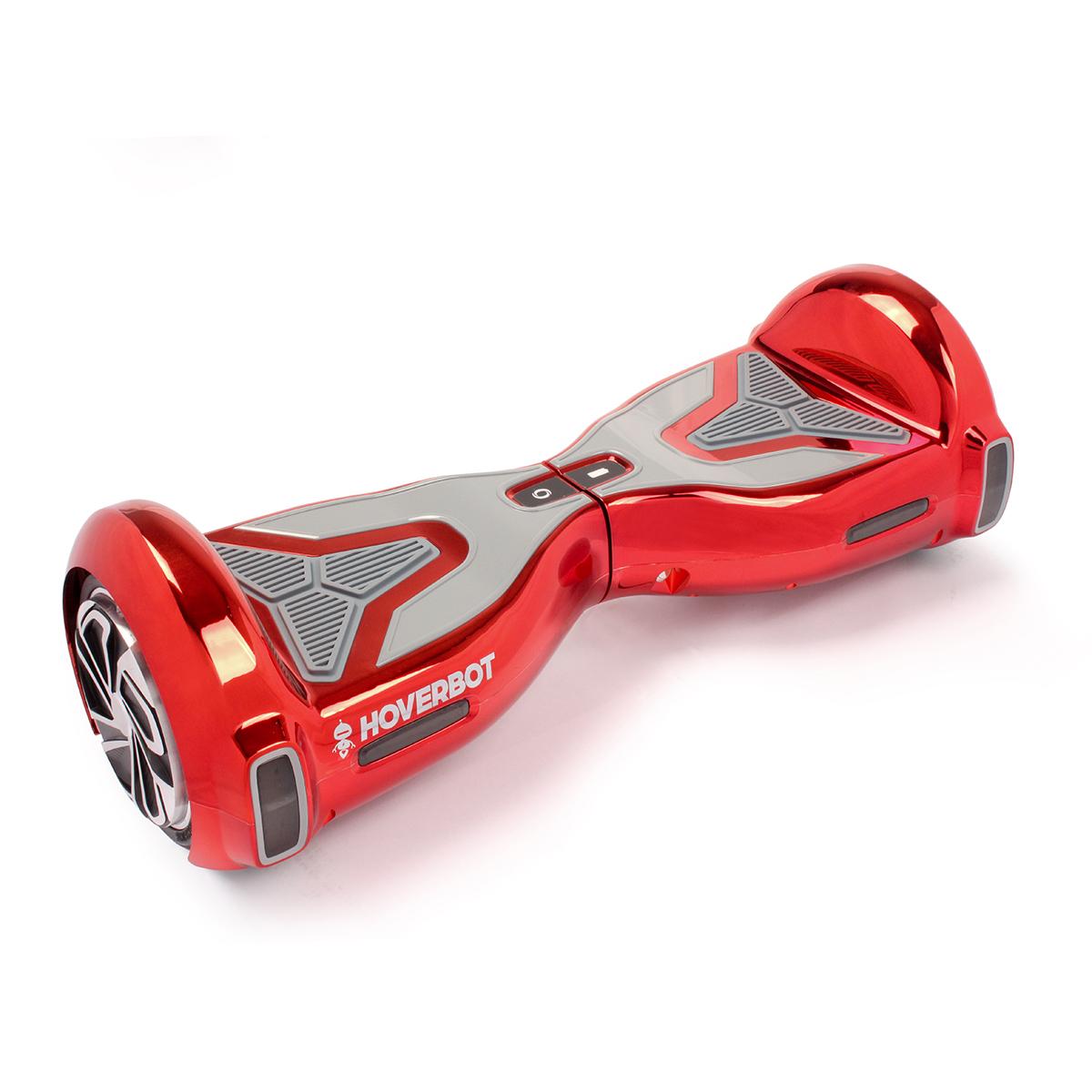 Гироскутер Hoverbot A-15, цвет: красныйGA15RDГироборд Hoverbot A-15 новая модель в классе 6,5 колёс с увеличенной мощностью мотора. Ультрамодный, современный дизайн, с яркими глянцевыми корпусами не оставит равнодушным ни хозяина устройства, ни случайных прохожих. Яркая цветовая палитра удовлетворит запросы, как и юношей, так и прекрасную половину человечества - жёлтые, золотые, зелёные, красные, голубые, металлик, чёрные-на любой вкус и цвет. Борд преодолевает дистанцию до 15 км на одном заряде батареи. Hoverbot A-15 имеет высокую степень пыле и влаго защиты IP54, выдерживает максимальную нагрузку до 120 кг! Оснащён bluetooth передатчиком, который позволяет связаться с любым вашим устройством и воспроизводить различные аудио файлы, музыку, книги, радио. Для управления гиробордами Hoverbot, для смартфонов на базе Android и IPhone, было разработано специальное программное обеспечение Hoverbot, через которое вы можете подобрать для себя оптимальный режим работы A-15. Так же через ПО вы можете выставить ограничение по скорости,...