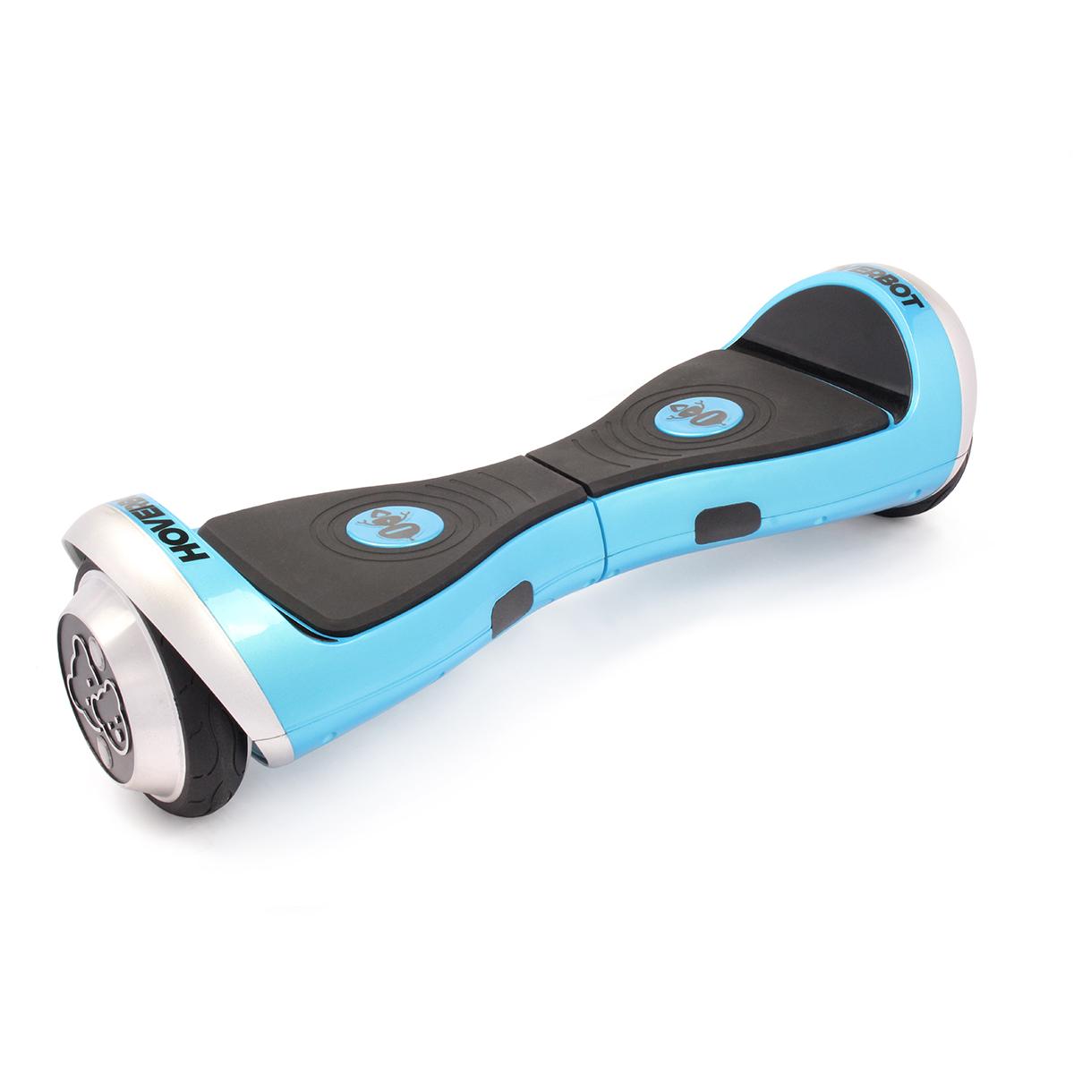 Гироскутер Hoverbot K-1, детский, цвет: синийGK1BEГироскутер Hoverbot K-1 создан специально для детей. Имеет большой цветовой спектр корпусов, поэтому подойдёт как для девочек, так и для мальчиков. Лёгкое и компактное устройство плавно входит в повороты, сводя к минимуму возможность падения с гироборда. Сравнительно небольшой диаметр колёс 4,5 рассчитан на передвижение по асфальту. По бокам на колёсах имеются световые огоньки, которые при движении начинают светиться. Hoverbot K-1 выдерживает максимальный вес 45 кг. Корпус сделан из высокопрочного, противоударного пластика, который сможет выдержать удары при падении с небольшой высоты. Кнопки-датчики управления борда стилизованы под бренд Hoverbot и располагаются на мягкой резиновой педали. Купив гироборд Hoverbot K-1 в подарок, вы доставите несказанную радость вашему ребёнку. Технические характеристики: Возможная дистанция: 10 км Максимальная скорость: 10 км/ч Аккумулятор: Lithium 42V 2.2 AH Размер колеса: 4,5 d Мощность мотора: 2 х 105W Максимальная нагрузка: 45 кг Время...