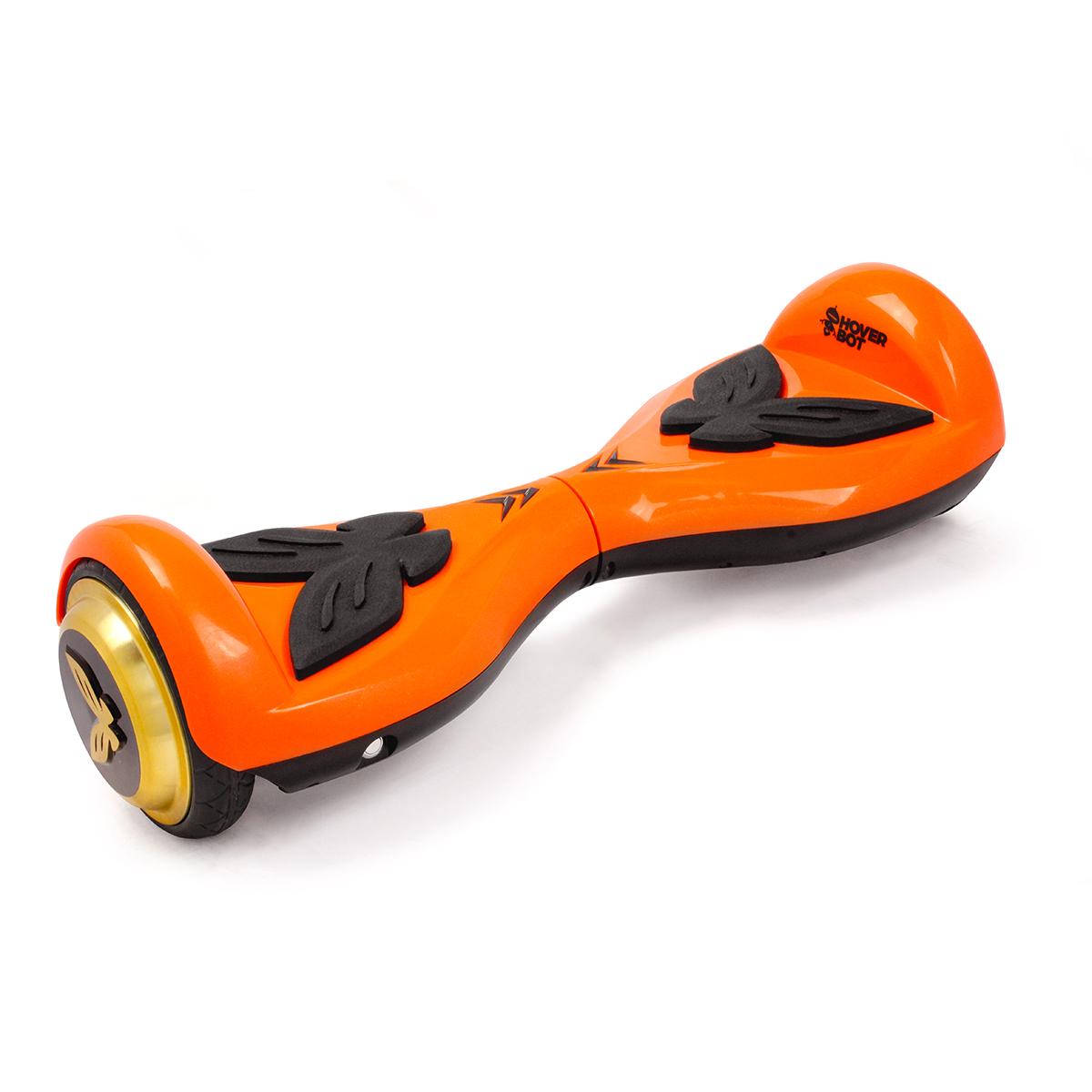 Гироскутер Hoverbot K-2, детский, цвет: оранжевыйGK2OEHoverbot K-2 детская модель гироборда. Идеально подойдёт для ребёнка весом до 60 кг, который делает свои первые пробные заезды. Управлять данным устройством очень легко, и ваш ребёнок быстро освоит все азы управления. Педали из мягкой резины выполнены в форме бабочек. Дизайн гироборда оценят девочки любого возраста. Колёса выполнены из прочной резины, колёсные диски имеют золотой цвет. Покупая Hoverbot K-2 вы приобретаете долговечное и безопасное устройство из прочного пластика, в ярком дизайне и с отличными техническими характеристиками. Технические характеристики: Возможная дистанция: 10 км Максимальная скорость: 5 км/ч Аккумулятор: Lithium 42V 2.2 AH Размер колеса: 4,5 d Мощность мотора: 2 х 250W Максимальная нагрузка: 60 кг Время заряда/сеть: 60 мин/220В Вес нетто: 6 кг Вес брутто: 8 кг Влагозащита: IP54, Условия эксплуатации: -10°C + 50°C. Комплектация: Зарядное устройство, гарантийный талон, сертификат, инструкция