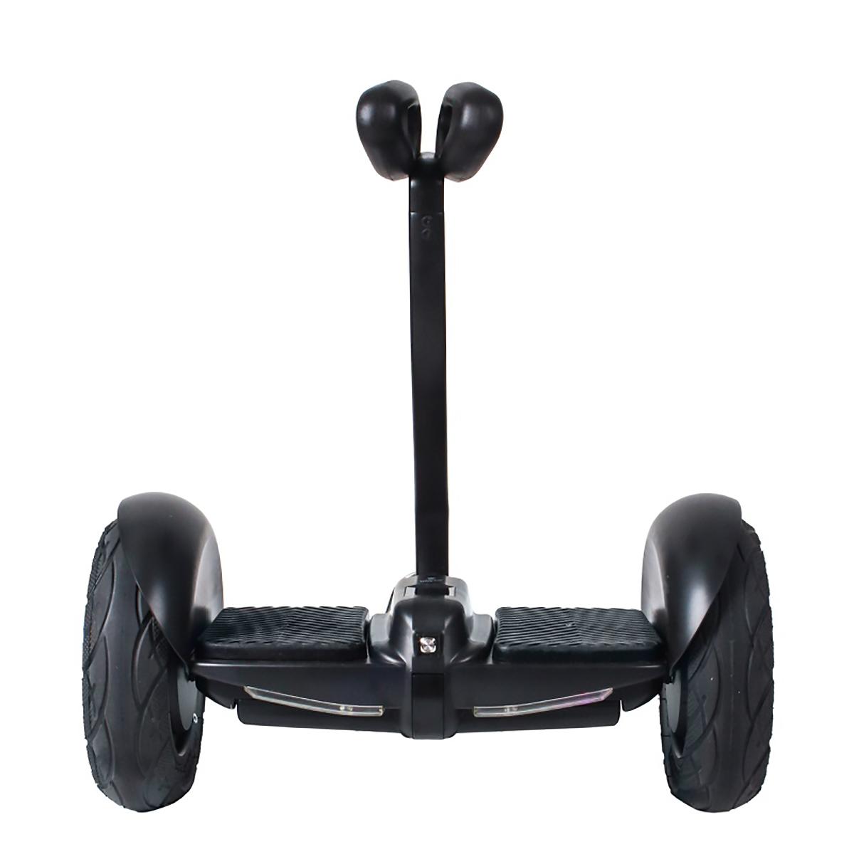 Гироскутер Hoverbot MINI, цвет: черныйMSMINIBKМини Сигвей Hoverbot mini представляет собой уменьшенную копию сигвея, управление которым осуществляется коленями. Данная модель Hoverbot'а развивает максимальную скорость в 16 км/ч и преодолевает расстояние на одном заряде до 22 км. Имеет световую подсветку и габариты на передней части корпуса. Лёгкое в управление устройство Hoverbot mini станет незаменимым спутником в прогулках по паркам, езде на работу, его можно легко поднять и перенести в другое место. В комплект входит зарядное устройство и пульт управления. Технические характеристики: Возможная дистанция: 22 км Максимальная скорость: 16 км/ч Аккумулятор: Lithium 54 V 4.4AH Размер колеса: 10 d Мощность мотора: 2x350W Максимальная нагрузка: 100 кг Время заряда/сеть: 120 мин/220В Вес нетто: 12.3 кг Вес брутто: 14,1 кг Влагозащита: IP55 Условия эксплуатации: -10°C + 50°C. Bluetooth. Приложение Mini Robot. Комплектация: Зарядное устройство, гарантийный талон, сертификат, инструкция