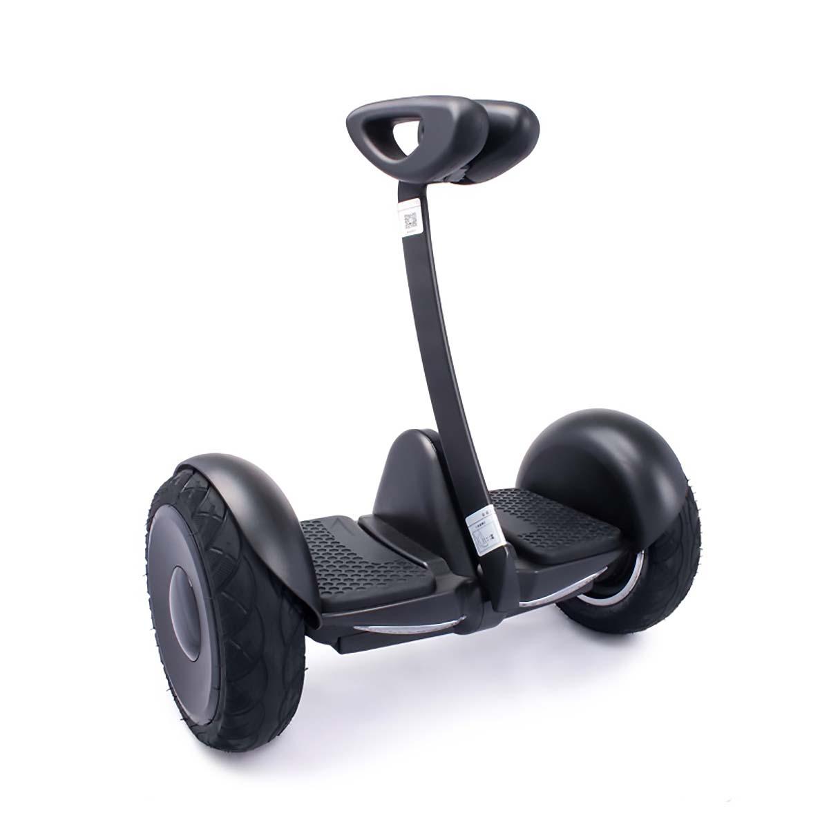 Гироскутер Hoverbot ROBOT MINI, цвет: черныйMSMINIRBKМини Сигвей Hoverbot mini ROBOT с виду напоминает маленький внедорожник, управление которым осуществляется коленями. Данная модель Hoverbot'а развивает максимальную скорость 16 км/ч и преодолевает расстояние на одном заряде до 22 км. Имеет световую подсветку и габариты на передней части корпуса. Отличный аккумулятор выдерживает длительные прогулки. При максимальном разряде батареи устройство оповестит вас звуковым сигналом. Сегвей Hoverbot mini ROBOT подходит для езды в парках, по асфальту, небольшим неровностям. Есть возможность управления через мобильное приложение, Bluetooth соединение. Зарядное устройство входит в комплект. Технические характеристики: Возможная дистанция: 22 км Максимальная скорость: 16 км/ч Аккумулятор: Lithium 4.4 AH Размер колеса: 10 d Мощность мотора. 2x350W Максимальная нагрузка: 100 кг Время заряда/сеть: 120 мин/220В Вес нетто: 12,8 кг Вес брутто: 14,1 кг Влагозащита: IP55 Условия эксплуатации: -10°C + 50°C. Bluetooth. Приложение MINI ROBOT
