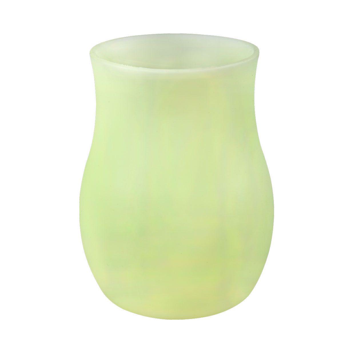 Ваза Miolla, цвет: салатовый, высота 10 см3502008UДекоративные вазы в наше время пользуются очень большим спросом. Любители украшать свой дом, оценят этот античный сосуд, который может стать не только красивым, но и практичным дополнением любого интерьера.