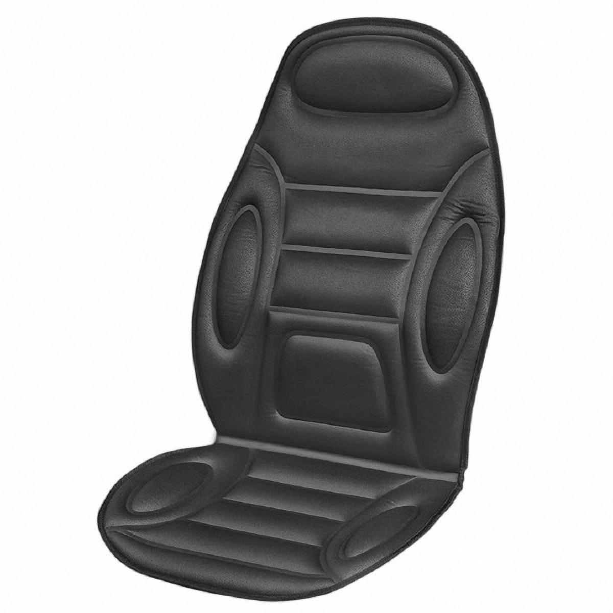 Подогрев для сиденья Skyway, со спинкой, цвет: черный, 120 х 51 смS02201022В подогреве для сиденья Skyway в качестве теплоносителя применяется углеродный материал. Такой нагреватель обладает феноменальной гибкостью и прочностью на разрыв в отличие от аналогов, изготовленных из медного или иного металлического провода. Особенности: - Универсальный размер. - Снижает усталость при управлении автомобилем. - Обеспечивает комфортное вождение в холодное время года. - Простая и быстрая установка. - Умеренный и интенсивный режим нагрева. - Терморегулятор для изменения интенсивности нагрева. - Защита крепления шнура питания к подогреву. Устройство подключается к прикуривателю на 12Вbr> Сила тока: 4-4,5 А. Напряжение: 12В. Мощность: 48-54 Ватт.