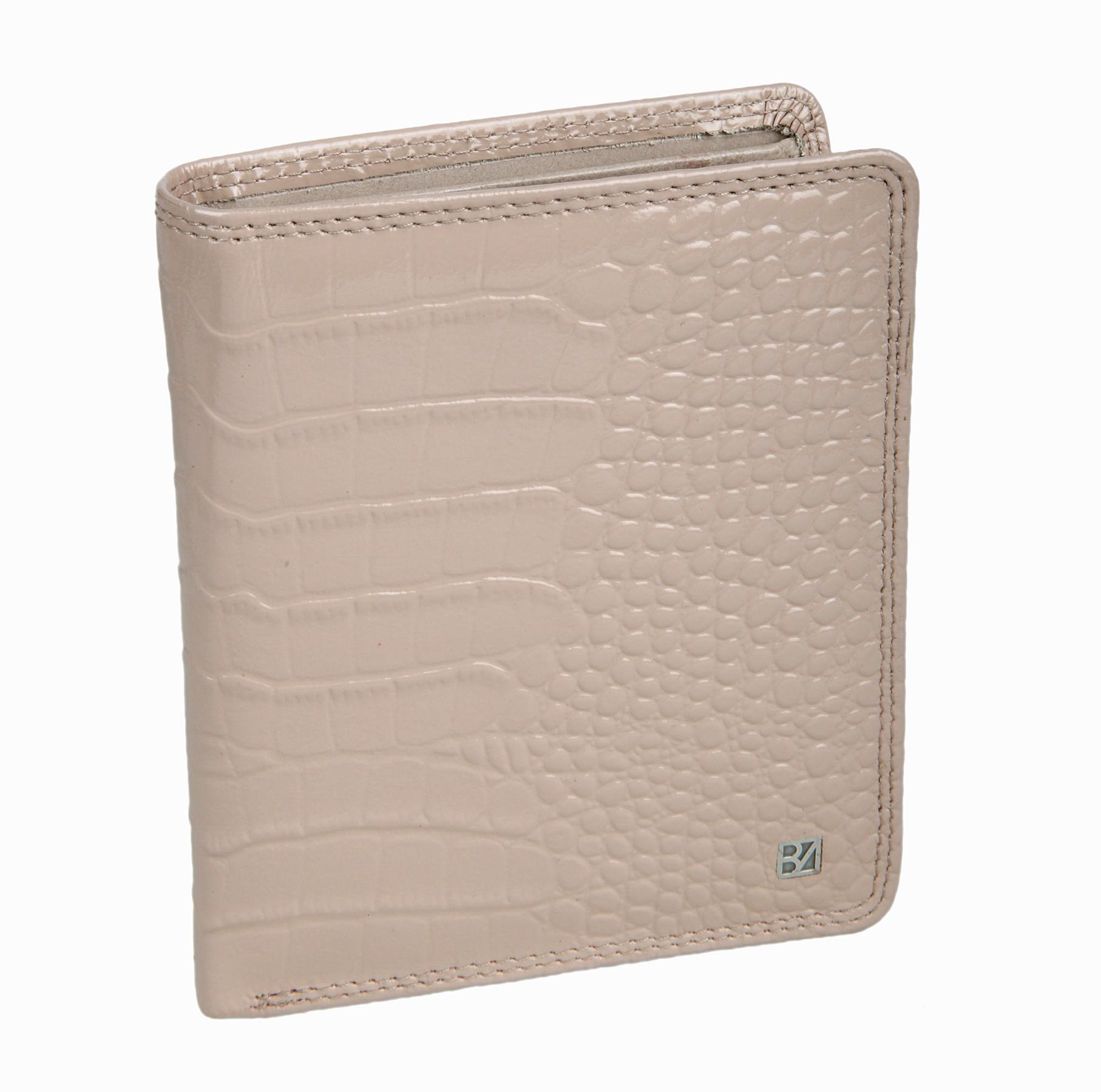 Портмоне женское Bodenschatz, цвет: бежевый. 4-762 sand4-762 sandРаскладывается пополам, внутри два отделение для купюр, девять кармашков для пластиковых карт, сетчатый карман для пропуска, карман для мелочи на кнопке, пять карманов для документов.