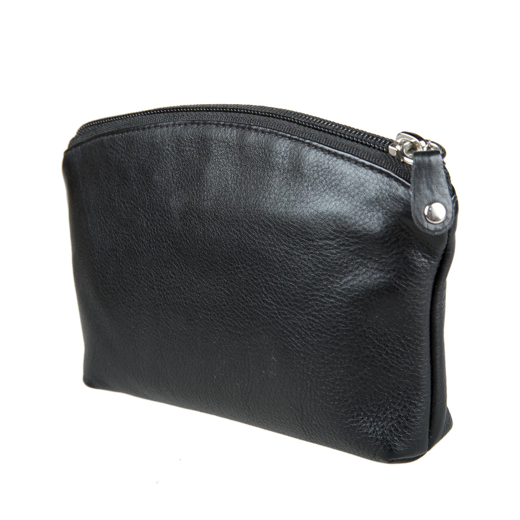 Косметичка женская Bodenschatz, цвет: черный. 8-624 black8-624 blackЗакрывается на молнию, внутри один большой отдел для косметики, один кармашек для мелких предметов.