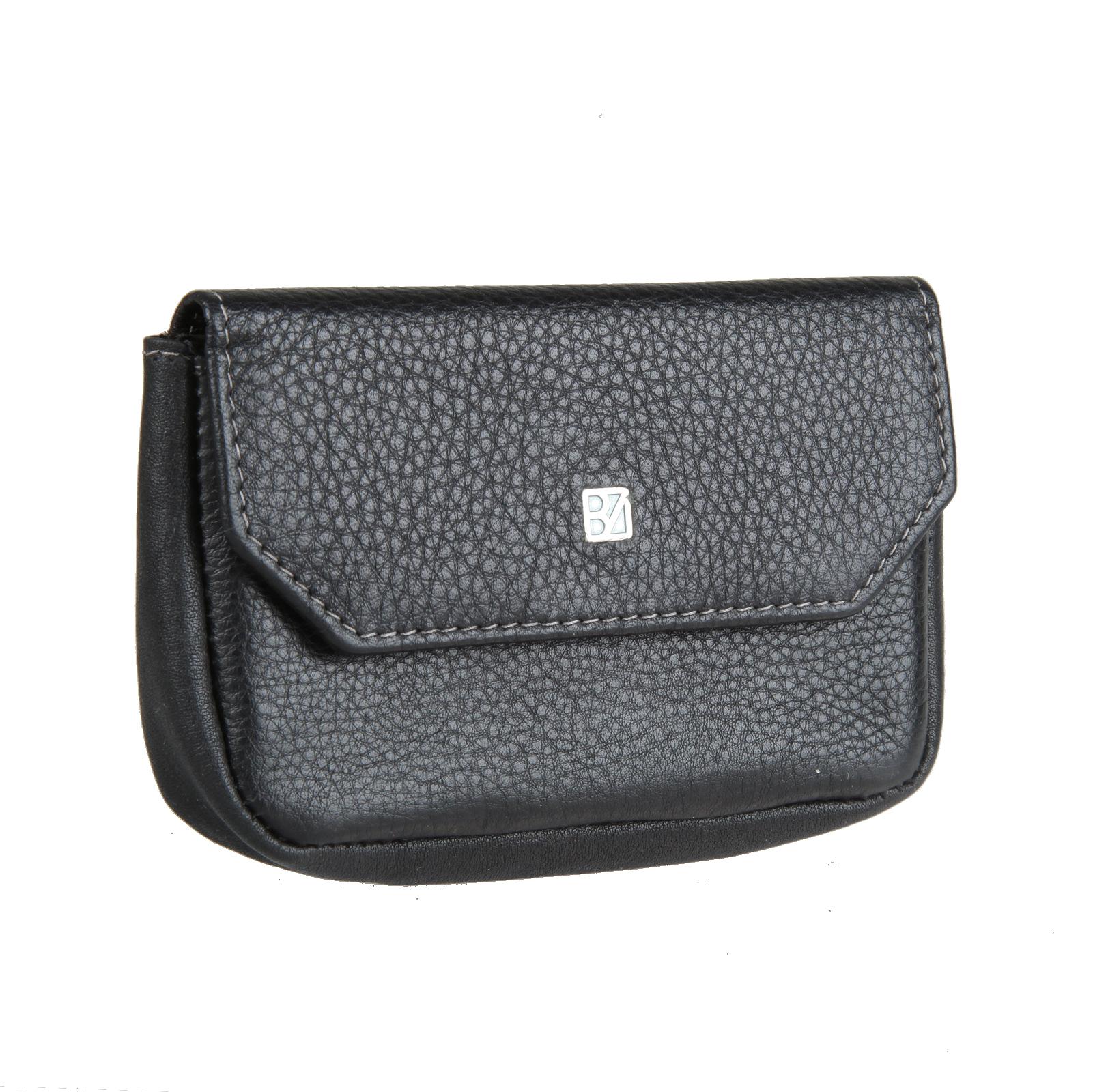 Ключница женская Bodenschatz, цвет: черный. 8-944 black8-944 blackЗакрывается клапаном на кнопку, внутри два кольца для ключей, потайной кармашек, снаружи на передней стенке кармашек для мелких предметов на молнии.