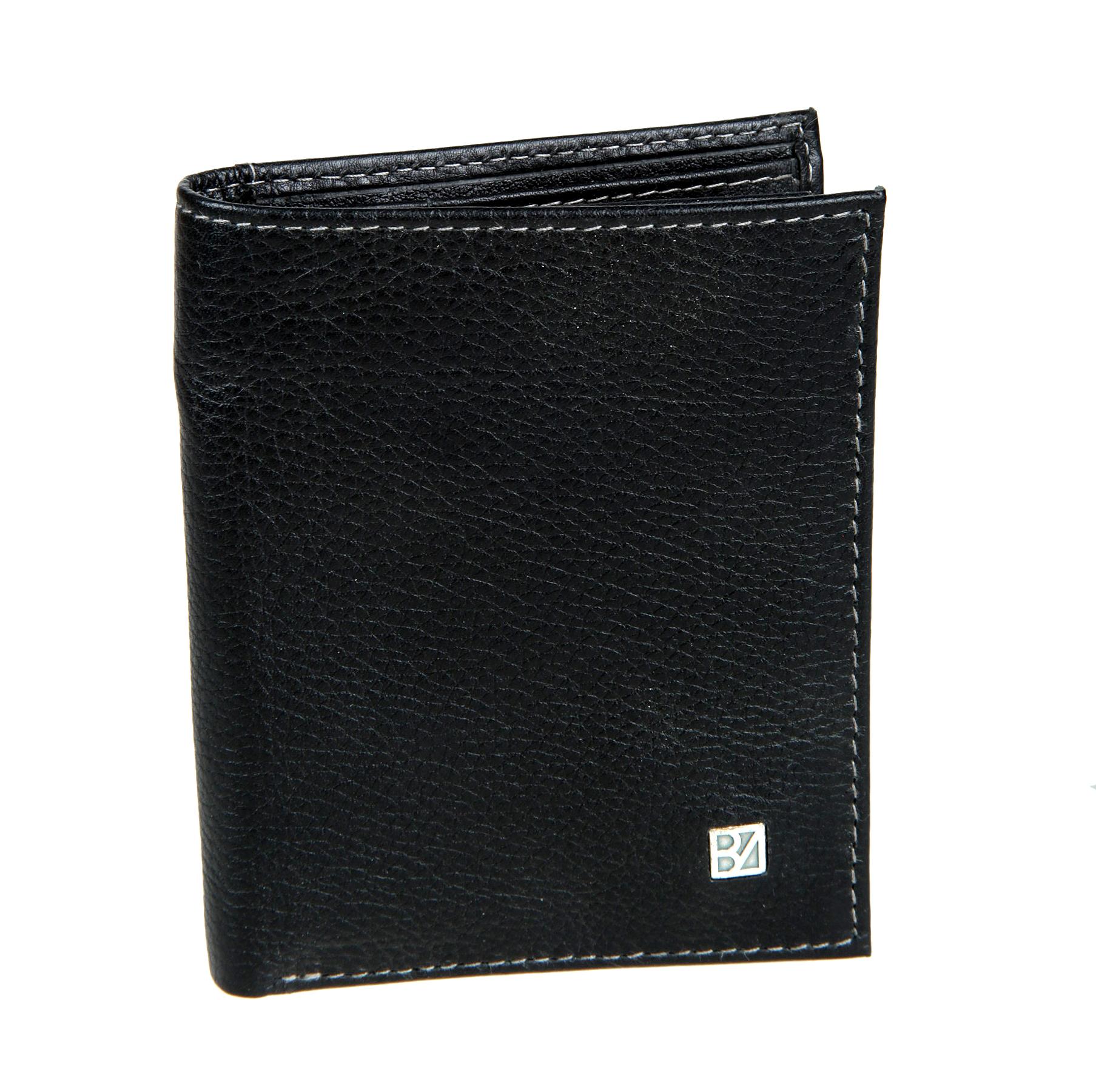 Портмоне мужское Bodenschatz, цвет: черный. 8-954 black8-954 blackРаскладывается пополам, внутри один отдел для купюр, три потайных кармана, восемь кармашков для пластиковых карт, снаружи на задней стенке кармашек для бумаг.