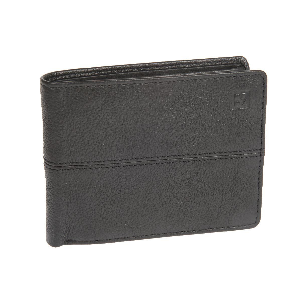 Портмоне мужское Bodenschatz, цвет: черный. 8-997 black8-997 blackРаскладывается пополам, внутри два отдела для купюр, потайной карман на молнии, карман для мелочи на кнопке, два сетчатых кармана, девять кармашков для пластиковых карт, три кармана для документов.