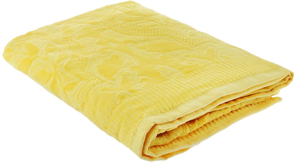 Полотенце Guten Morgen Лимон, цвет: желтый, 70 х 130 смBTY-28570130ЖПри производстве полотенца Guten Morgen Лимон используется сырье самого высокого качества: безопасные красители и 100% хлопок. Полотенца - это просто необходимый атрибут каждой ванной комнаты в любом доме. Полотенца Guten Morgen отлично впитывают влагу, комфортны для кожи, не содержат аллергенных красителей, имеют стойкий к стирке цвет. Состав: 100% хлопок; Размер: 70 х 130 см.