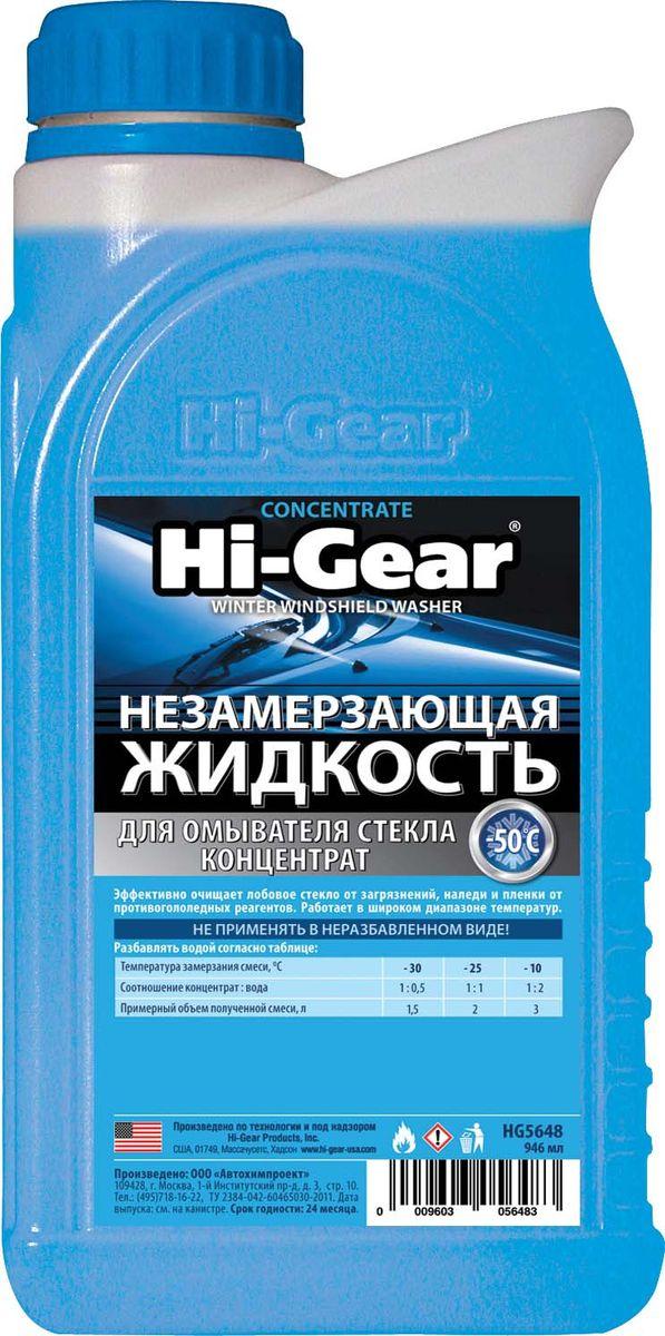 Жидкость для омывателя стекла Hi Gear, незамерзающая, концентрат, 1 лHG 5648Незамерзающие жидкости относятся к категории товаров активной безопасности, серьезно влияя на уровень и качество обзора, а также на здоровье людей, находящихся в салоне автомобиля. Именно поэтому их качеству необходимо уделять повышенное внимание. Многочисленные лабораторные испытания и тесты, проводившиеся ведущими автомобильными изданиями, неоднократно подтверждали, что фактическая температура начала кристаллизации незамерзающей жидкости Hi-Gear точно соответствует температуре, заявленной на этикетке. Канистра, в которой поставляется жидкость, обеспечена защитой от подделок в виде рельефного логотипа Hi-Gear на горловине.НАЗНАЧЕНИЕ: для очистки автомобильных стекол и фар при отрицательных температурах до ?50 °C.ДЕЙСТВИЕ: незамерзающая жидкость Hi-Gear благодаря входящим в ее состав поверхностно-активным веществам эффективно устраняет дорожные загрязнения и следы атмосферных осадков. Отличается улучшенными моющими и антиобледенительными свойствами. СООТВЕТСТВИЕ...