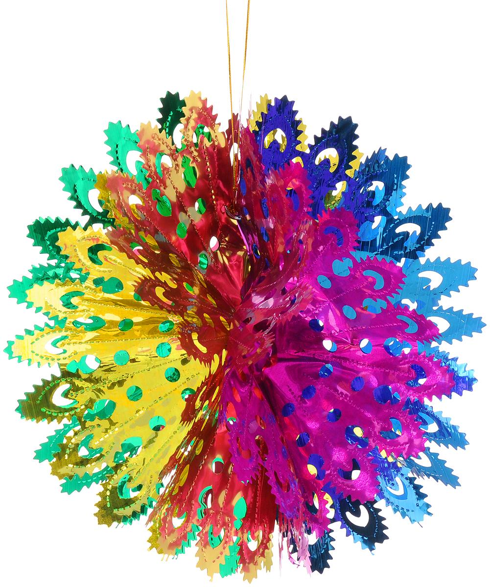 Украшение новогоднее подвесное Magic Time Сказочная снежинка, 35 x 18 см42126Новогоднее подвесное украшение Magic Time Сказочная снежинка выполнено из ПЭТ (полиэтилентерефталат) в виде снежинки. С помощью специальной петельки украшение можно повесить в любом понравившемся вам месте. Игрушка удачно будет смотреться под потолком. Новогоднее украшение Magic Time Сказочная снежинка несет в себе волшебство и красоту праздника. Создайте в своем доме атмосферу веселья и радости, с помощью игрушек, которые будут из года в год накапливать теплоту воспоминаний. Материал: полиэтилентерефталат. Размер: 35 х 18 см.
