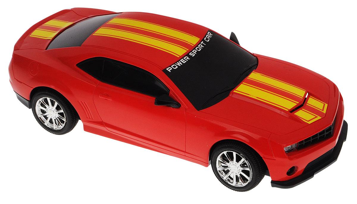 Junfa Toys Машинка инерционная Racing цвет красный7754A_красныйИнерционная машинка Junfa Toys Racing, выполненная из безопасного пластика, станет любимой игрушкой вашего ребенка. Игрушка представляет собой уменьшенную копию гоночного автомобиля со световыми и звуковыми эффектами. Игрушка оснащена инерционным механизмом. Достаточно немного подтолкнуть ее назад или вперед, а затем отпустить, и машинка сама поедет в том же направлении. Световые и звуковые эффекты включаются при надавливании на капот машинки. Ваш ребенок будет увлеченно играть с этой машинкой, придумывая различные истории. Порадуйте его таким замечательным подарком! Для работы игрушки необходимы 3 батарейки типа LR44/AG13 (товар комплектуется демонстрационными).