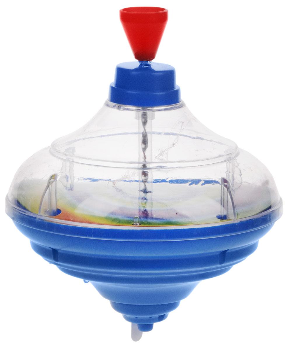 Junfa Toys Юла цвет синийCQS788-7_синийДетская юла - это одна из самых популярных и любимых игрушек малышей. У юлы Junfa Toys присутствуют световые и звуковые эффекты, что, несомненно, порадует вашего ребенка. Играть с юлой очень просто: нужно несколько раз поднять, а затем плавно опустить ручку юлы, и она закружится в завораживающем танце. Постепенно скорость снижается и юла останавливается. Игра с юлой поможет развить пространственное мышление, координацию движений, мелкую моторику, фантазию, наблюдательность, цветовое и звуковое восприятия. Рекомендуется докупить 3 батарейки напряжением 1,5V типа АG13/LR44 (товар комплектуется демонстрационными).