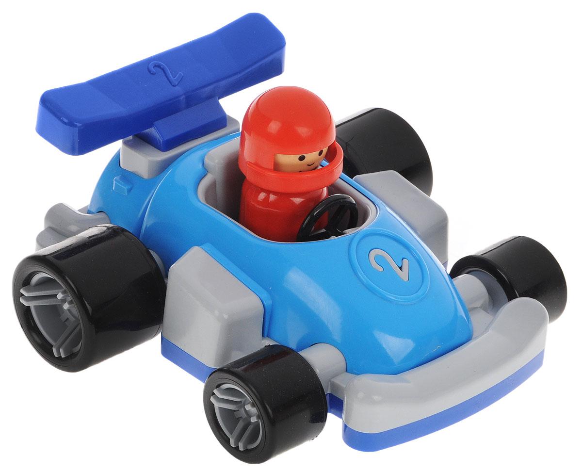 Форма Гоночная машинка Молния цвет голубой серыйС-149-Ф_голубой, серыйГоночная машинка Форма Молния - это замечательная игрушка для маленьких любителей Формулы-1. В машинке сидит гонщик в шлеме, который может поворачивать голову. У игрушечного автомобиля большие задние колеса, благодаря которым гоночная машина будет быстрее стартовать на импровизированных соревнованиях в скорости. Фигурка гонщика съемная. Игрушка выполнена из безопасного материала ярких цветов.