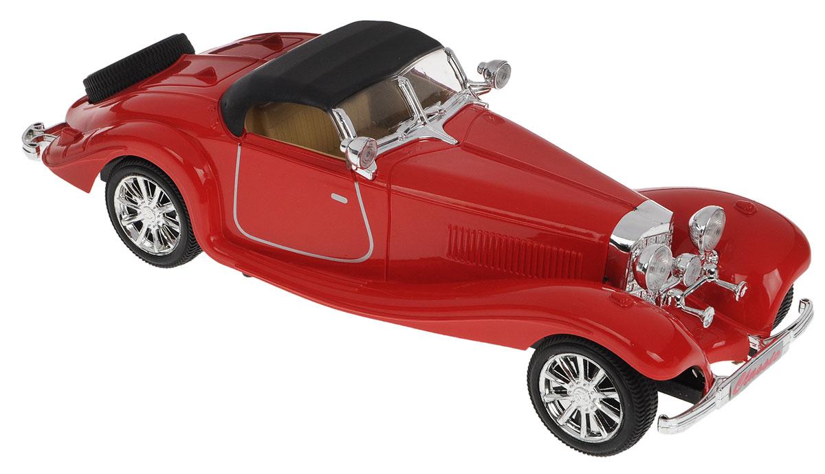Junfa Toys Машинка инерционная Madness цвет красныйL125_красныйИнерционная машинка Junfa Toys Madness, выполненная из безопасного пластика, станет любимой игрушкой вашего ребенка. Игрушка представляет собой уменьшенную копию ретро-автомобиля. Машина оснащена инерционным механизмом. Достаточно немного подтолкнуть машинку вперед или назад, а затем отпустить, и она сама поедет в ту же сторону. Рассматривая данный автомобиль, можно обратить внимание на особенности салона, красоту фар, колес и кузова. Порадуйте его таким замечательным подарком!