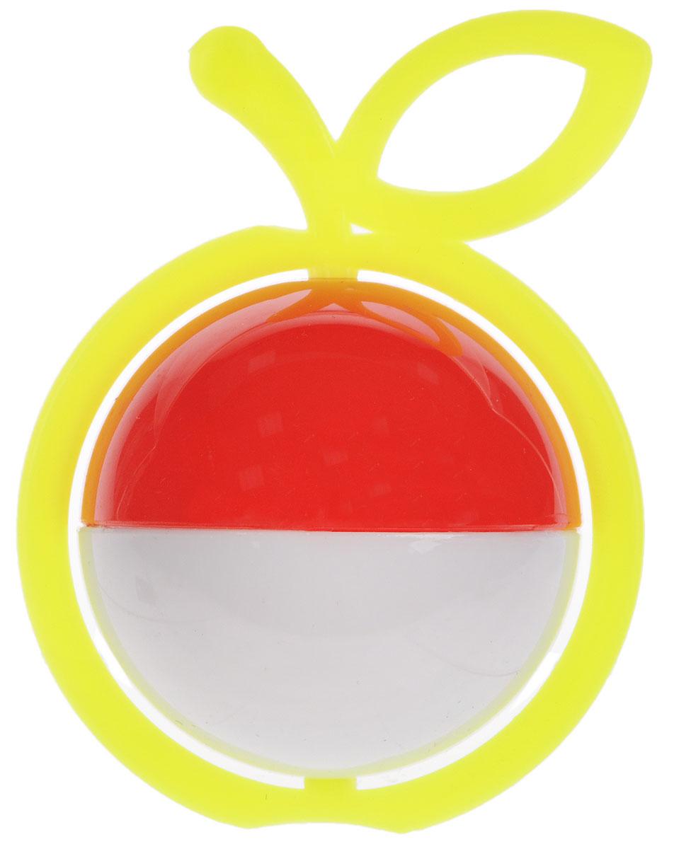 Аэлита Погремушка Яблоко цвет желтый белый красный