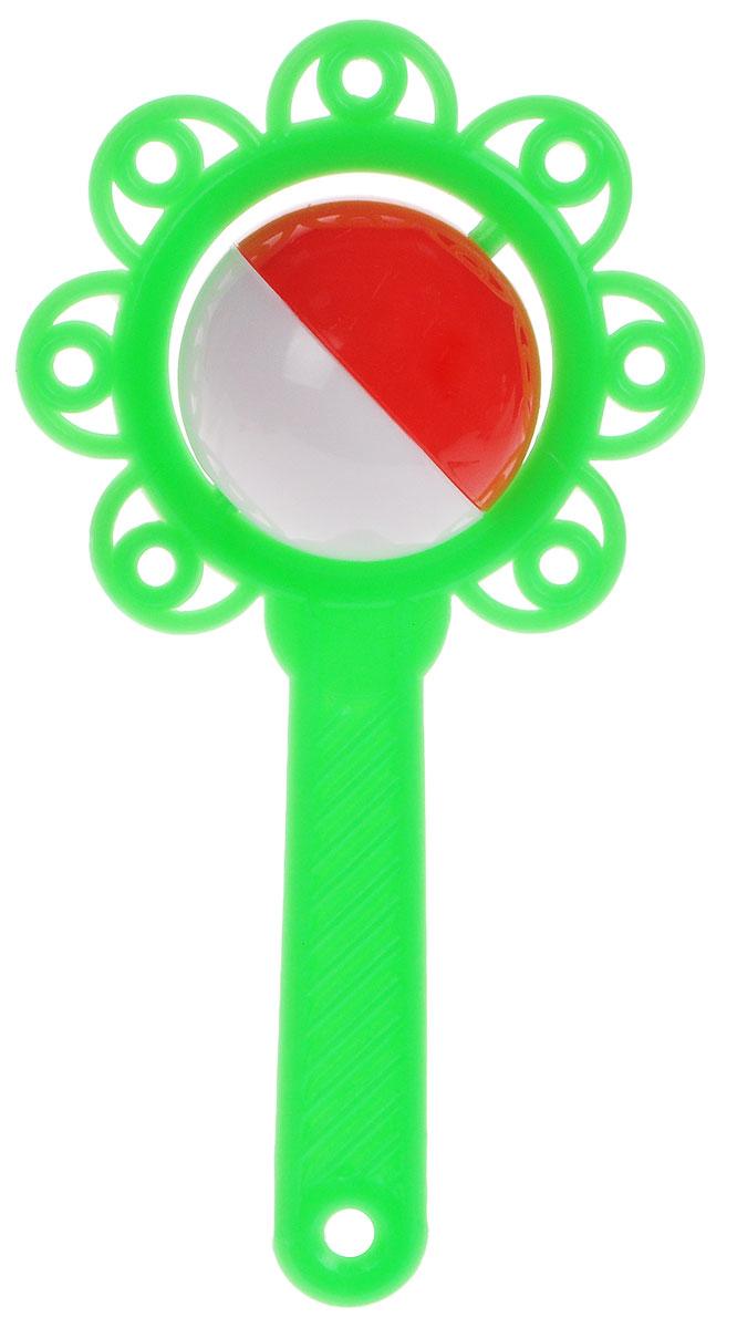 Аэлита Погремушка Цветок цвет зеленый2С272_ зеленыйЯркая погремушка Аэлита Цветок не оставит вашего малыша равнодушным и не позволит ему скучать! Игрушка представляет собой зеленый цветочек, внутри которого расположен небольшой красно-белый шарик, выполняющий роль погремушки. Удобная форма ручки погремушки позволит малышу с легкостью взять и держать ее. Яркие цвета игрушки направлены на развитие мыслительной деятельности, цветовосприятия, тактильных ощущений и мелкой моторики рук ребенка, а элемент погремушки способствует развитию слуха. Товар сертифицирован.