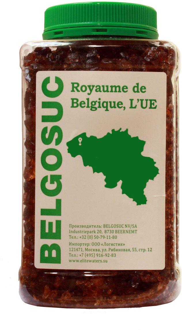 Belgosuc сахар карамельный коричневый свекловичный в кусочках, 900 г