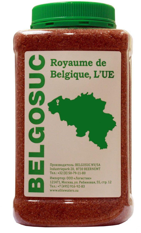 Belgosuc сахар-песок светло-коричневый свекловичный, 1 кг