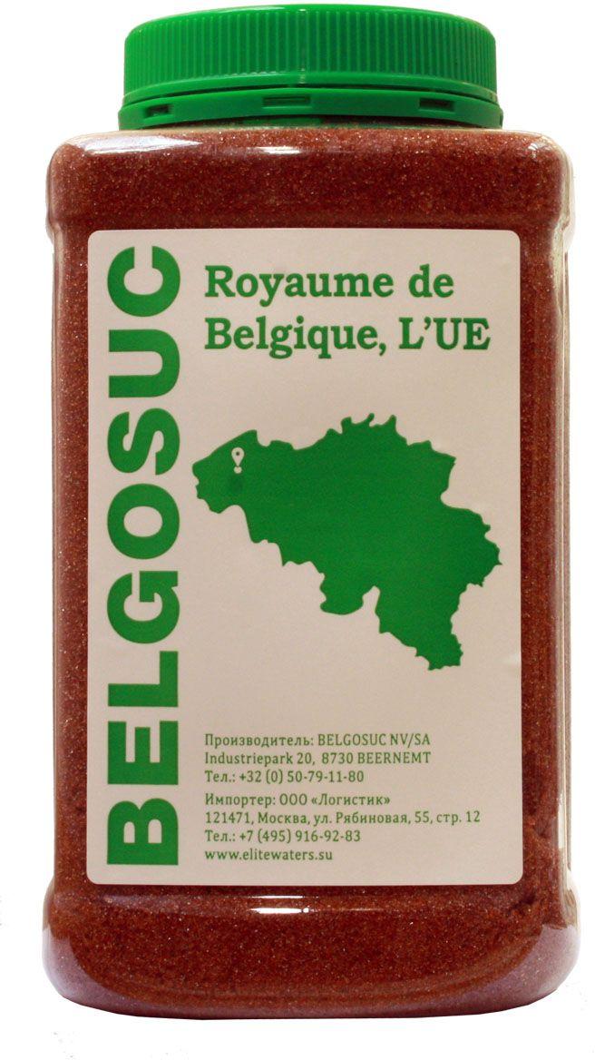 Belgosuc сахар-песок темно-коричневый свекловичный, 1 кг