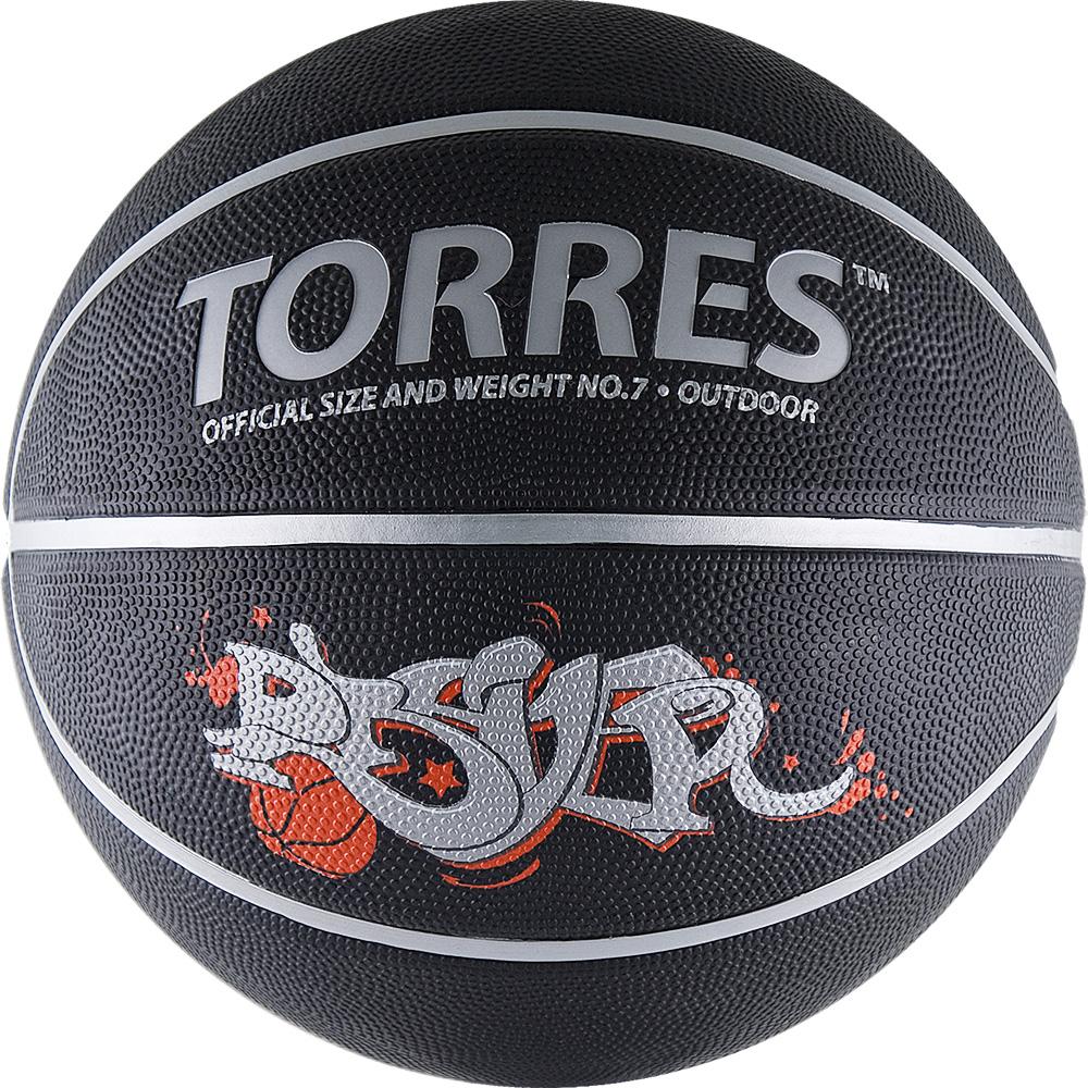 Мяч баскетбольный Torres Prayer, цвет: черный, красный, серебристый. Размер 728260154Основные характеристики Вид: баскетбольный Уровень игры: любительский Размер: 7 Количество панелей: 8 Тип соединения панелей: клееный Вес: 567-650гр Окружность: 74,9-78см Цвет основной: черный Цвет дополнительный: серебрянный, красный Материал камеры: бутиловая Материал обмотки камеры: нейлон Материал покрышки: резина Подходит для игры на улице и в зале Страна-производитель: Китай Упаковка: пакет (поставляется в сдутом виде) Данный мяч из коллекции мячей Street line с ярким уличным дизайном в стиле граффити предназначена для любительской игры, а также формирования ассортимента розничных точек продаж. Название Prayer (в переводе с англ. молитва) в баскетбольной терминологии обозначает бросок, зачастую выполняемый на последних секундах матча и позволяющий таким образом его выиграть. Размер 7 для мужчин и для юниоров старше 15 лет.