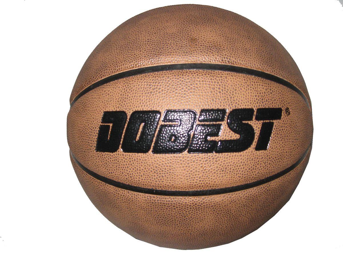 Мяч баскетбольный Dobest PK300, цвет: коричневый. Размер728262377Основные характеристики Вид: баскетбольный Уровень игры: любительский Размер: 7 Количество панелей: 8 Количество слоев: 4 Вес: 600-620гр. Цвет: коричневый Материал: высококачественная синтетическая кожа. Мяч подходит для игры на улице и в зале Страна-производитель: Китай Упаковка: пакет (поставляется в сдутом виде) Преимущества: - изготовлен с применением новейших технологий и с учетом всех особенностей человеческой кисти, что позволяет добиваться невероятных результатов во время матча; - покрытие из высококачественной синтетической кожи впитывает влагу с ладоней, что способствует максимальному контролю над мячом; - глубокие каналы позволяют более четко ощущать пальцами поверхность мяча.