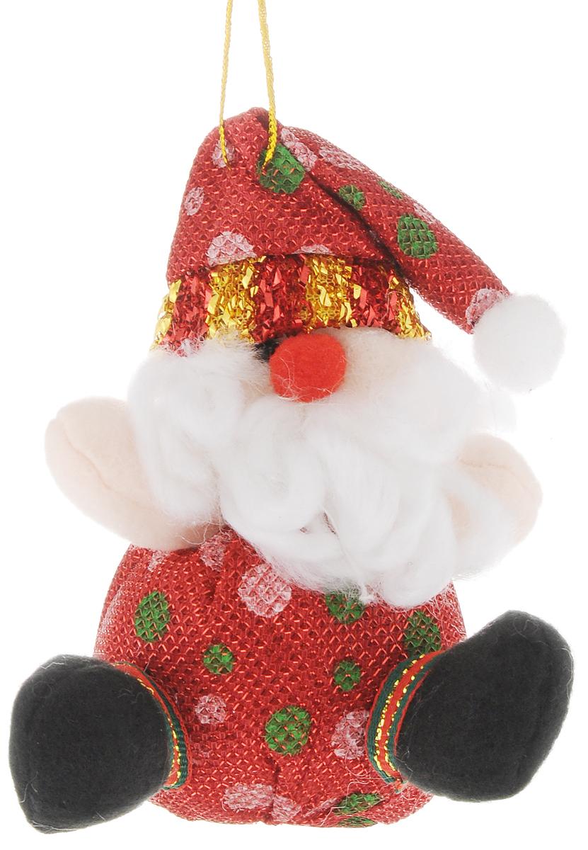 Украшение новогоднее подвесное Феникс-Презент Дед Мороз. 4252542525Новогоднее украшение Феникс-Презент Дед Мороз отлично подойдет для декорации вашего дома и новогодней ели. Игрушка выполнена из полиэстера в виде забавного Деда Мороза. Украшение декорировано блестящей нитью и оснащено специальной текстильной петелькой для подвешивания. Елочная игрушка - символ Нового года. Она несет в себе волшебство и красоту праздника. Создайте в своем доме атмосферу веселья и радости, украшая всей семьей новогоднюю елку нарядными игрушками, которые будут из года в год накапливать теплоту воспоминаний.