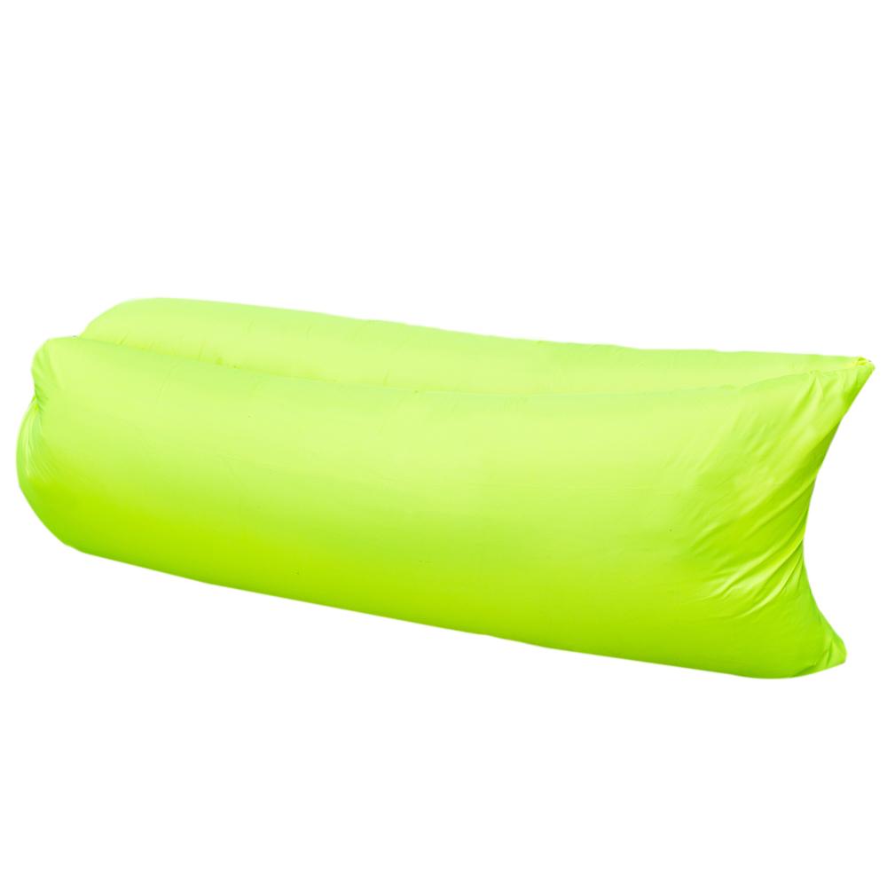 Диван надувной «Lamzac», цвет: лайм  тумбочки под телевизор спб