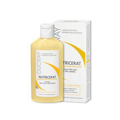 Ducray Сверхпитательный шампунь Nutricerat, 200 млC17866Глубоко насыщает кератиновые структуры волоса, одновременно восстанавливая кутикулу. Оставляет волосы мягкими и блестящими. Больший объем по старой цене!