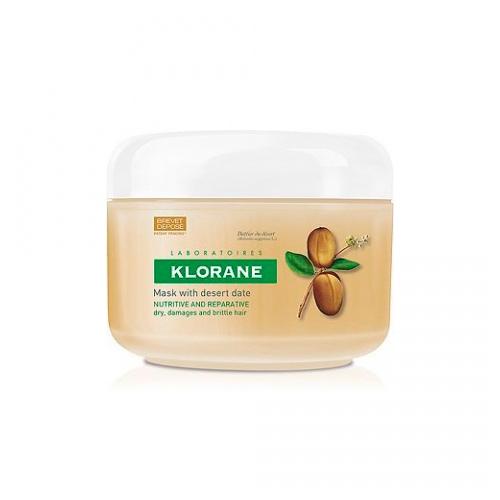 Klorane Dry Hair Питательно-восстанавливающая маска, с маслом финика пустынного, 150 млC38413Обеспечивает глубокое питание, восстановление и регенерацию даже очень сухих, ломких и лишенных жизненной силы волос. Маска интенсивно питает и укрепляет волосы, восстанавливая их изнутри, благодаря чему они становятся эластичными и упругими и более устойчивыми к ежедневному механическому и химическому воздействию: расчесыванию и укладкам. Протестировано под дерматологическим контролем. Не содержит парабенов. Эффективность: Интенсивно питает волосы - 97%*. Восстанавливает волосы - 93%*. Общая положительная оценка маски - 97%*. Потребительский тест с участием 30 женщин, волосы которых отвечают критериям сухие, поврежденные и ломкие, после 21 дня использования маски (% удовлетворенных пользователей).