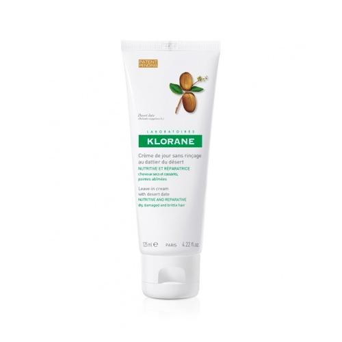 Klorane Dry Hair Питательный дневной крем с маслом финика пустынного, 125 мл