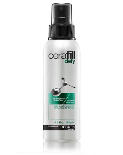 Redken Cerafill Defy Treatment Несмываемый уход для кожи головы, 125 млE1102200Ежедневный несмываемый уход для нормальных истонченных волос. Помогает предупредить истончение волос и увеличить их диаметр. Легкая инновационная формула, насыщенная аминексилом и аргинином питает кожу головы, поддерживая здоровую среду и создавая условия для естественного роста волос.