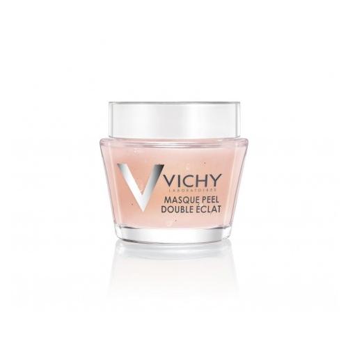 Vichy Маска-пилинг, 75 млM9119000Минеральная маска-пилинг Двойное сияние - дополнительный уход для улучшения цвета и текстуры кожи. Фруктовые кислоты бережно эксфолиируют отмершие клетки кожи. Частицы вулканического происхождения мягко отшелушивают. Сочетание химического и физического пилингов позволяет максимально щадяще добиться выравнивания текстуры кожи и улучшения цвета лица. Восстанавливает минеральный баланс кожи.