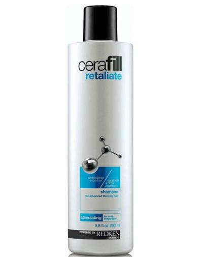 Redken Cerafill Retaliate Шампунь для стимуляции роста волос, 290 млP0915400Шампунь для сильно истонченных волос со стимулирующим ментолом бережно очищает волосы и кожу головы. Содержит в себе керамиды, укрепляющие волосы, и SP-94, питающий и поддерживающий здоровую среду кожи головы для улучшения состояния при истончении волос. Ментол обеспечивает охлаждающий и стимулирующий эффект на коже головы.