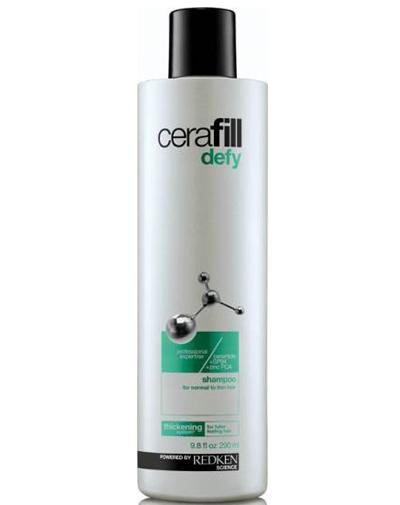 Redken Cerafill Defy Шампунь для поддержания плотности истончающихся волос, 290 мл