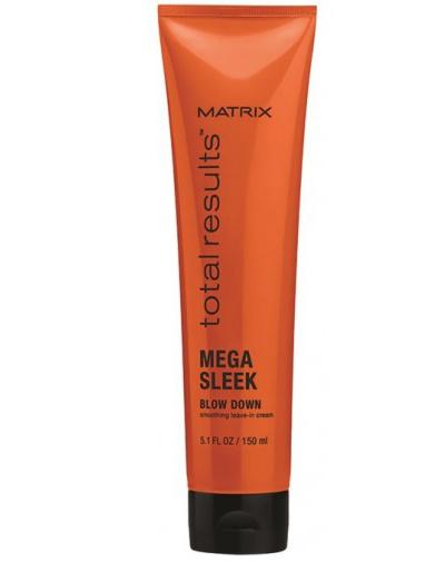 Matrix Total Results Mega Sleek Разглаживающий крем Blow Down, 150 мл (Matrix Cosmetics)