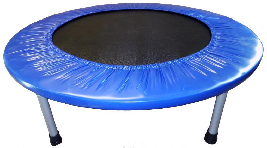 """Батут Z-Sports R-1266 (40)115897969Батут - это идеальный тренажер для всей семьи. Батут развивает координацию движений, вестибулярный аппарат, многие группы мышц, весёлая профилактика и лечение плоскостопия и сколиозов (искривление позвоночника). Дети, прыгая на батуте, развивают координацию движений, тренируют вестибулярный аппарат. По сравнению с бегом трусцой Вы получаете значительно меньшую ударную нагрузку на колени, лодыжки и поясницу Кроме всего прочего, прыжки на батуте это удовольствие и гарантированное прекрасное настроение. Описание и характеристики: Батут подходит для использования дома, в спортивном зале и даже на открытом воздухе. Собирается и разбирается в течение нескольких минут. При сборке будьте внимательны, берегите Ваши руки. Не привлекайте детей для сборки батута. Размер: 40"""" (102см) Основная рама: материал - гальванизированная сталь Диаметр трубы - 25мм, толщина стали - 1мм Высота: 22,5см Комплектность: 6 ножек (25*1,5мм), 36 пружин (3*16*мм), защитный чехол. Материалы подкладки:..."""