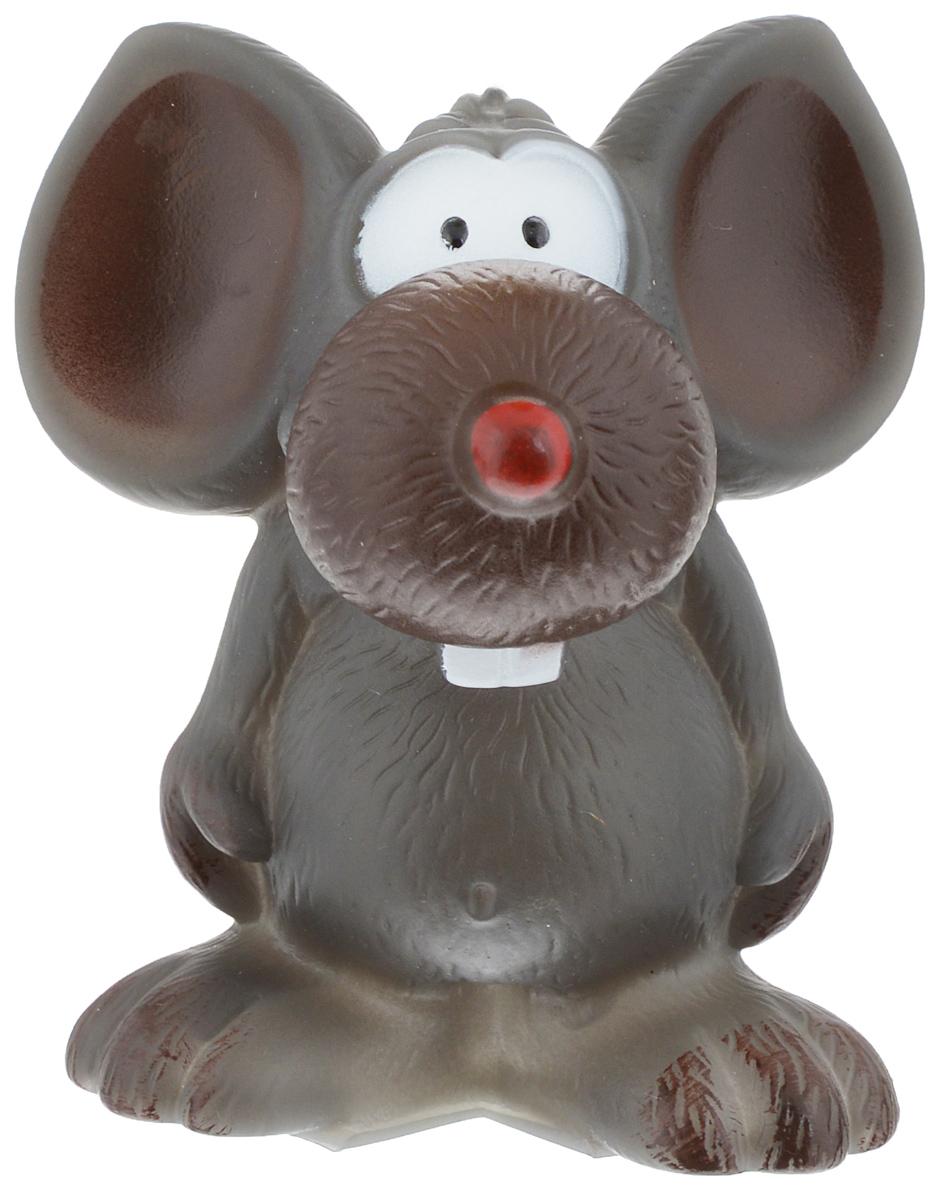 Игрушка для животных Каскад Мышь забавная, с пищалкой, высота 10 см27799281Игрушка Каскад Мышь забавная изготовлена из прочной и долговечной резины, которая устойчива к разгрызанию. Необычная и забавная игрушка прекрасно подойдет для собак, любящих игрушки с пищалками. Размер игрушки: 10 х 8,5 х 8,5 см.