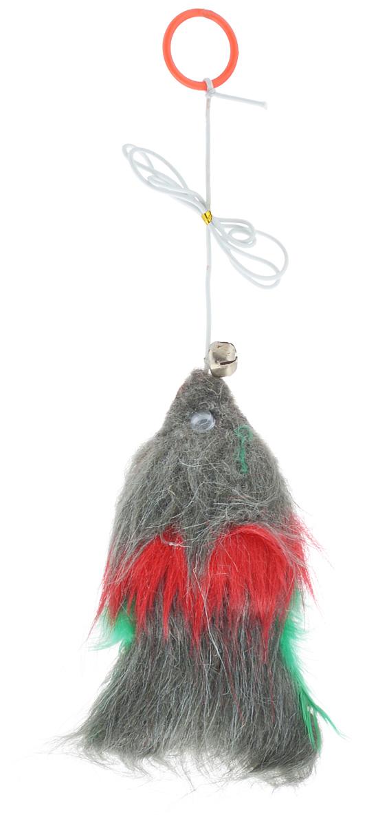 Игрушка для животных Каскад Рыбка, с перьями, на резинке с колокольчиком, длина 13 см27759265Игрушка для животных Каскад Рыбка, изготовленная из искусственного меха, перьев и пластика, оснащена резинкой и колокольчиком. Такая игрушка порадует вашего любимца, а вам доставит массу приятных эмоций, ведь наблюдать за игрой всегда интересно и приятно. Размер игрушки: 13 х 6 х 2,5 см.