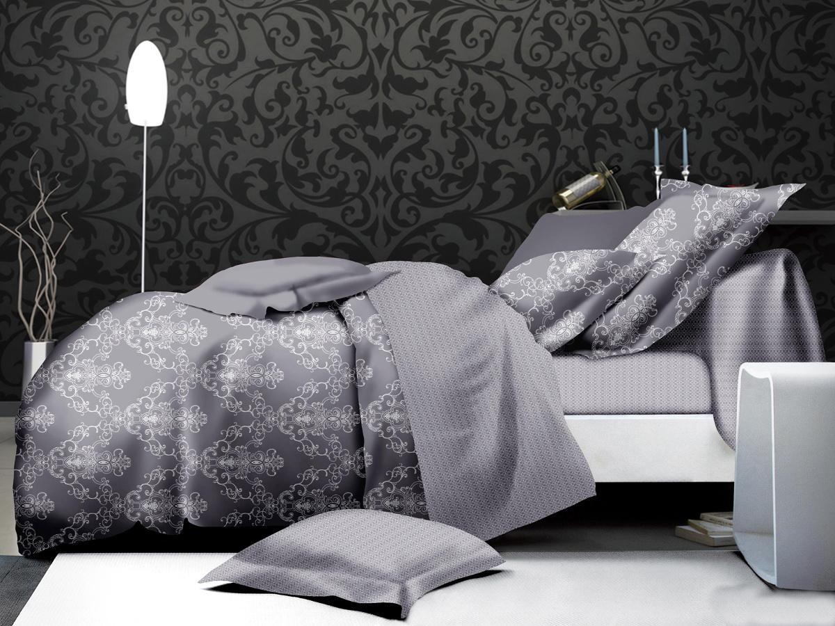Комплект белья Cleo Дымка, 1,5-спальный, наволочки 70х70, цвет: серый15/005-PLКоллекция КПБ Микро-сатин CLEO – Совершенство Экономии, но не на качестве! Благодаря новейшим технологиям Микро-сатин – это прочность, легкость, простота в уходе, всегда яркие цвета после стирки. Микро-сатин набирает все большую популярность, благодаря своим уникальным характеристикам. Окраска материала - стойкая, цветовая палитра - яркая, насыщенная. Микро-сатин хорошо впитывает влагу, а после стирки быстро сохнет, становясь шелковистым на ощупь, мягким и воздушным. Коллекция КПБ Микро-сатин -разнообразие ярких принтов, современных дизайнов и по праву считается суперсовременной на сегодняшний день!